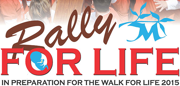 The Youth Rally for Life